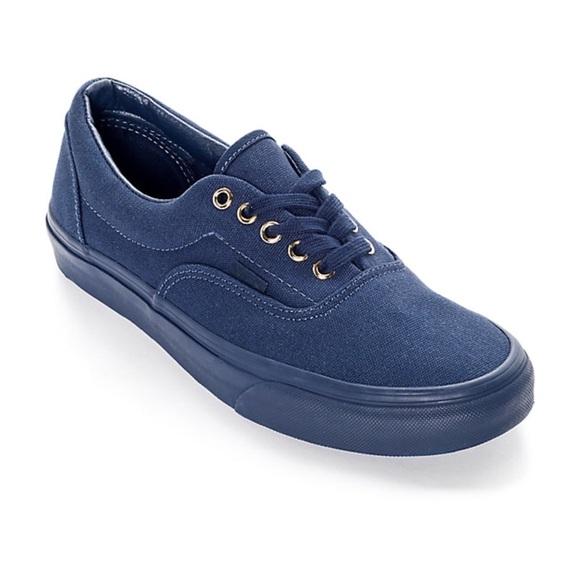 vans blue gold